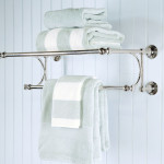 towel rack for bathroom wall