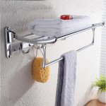 towel rack ideas for bathroom