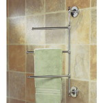 towel rack small bathroom