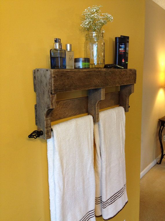 How To Сhoose A Perfect Towel Rack For Your Bathroom Wooden Shelf