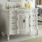 24 inch white bathroom vanity with top