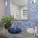 bathroom glass mosaic tile designs