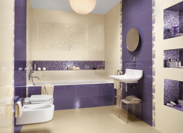 Bathroom Mosaic Tile Designs