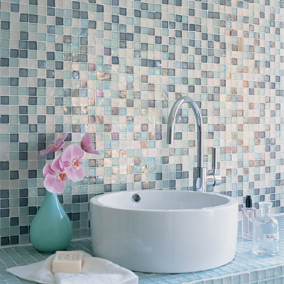 mosaic tiles for bathroom. The aesthetic and decorative properties of mosaic bathroom tiles usually  exceed those Mosaic Bathroom Tiles Advantages Types DecorIdeasBathroom