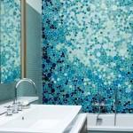 blue mosaic tile bathroom