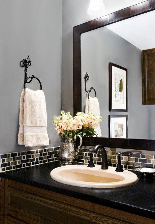 Mosaic Bathroom Tiles U2013 Advantages U0026 Types U2014 Glass Mosaic Tile Backsplash  Bathroom