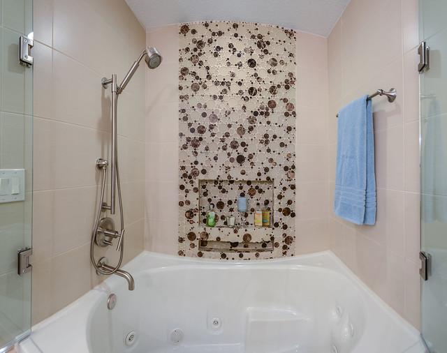 mosaic tile borders bathroom