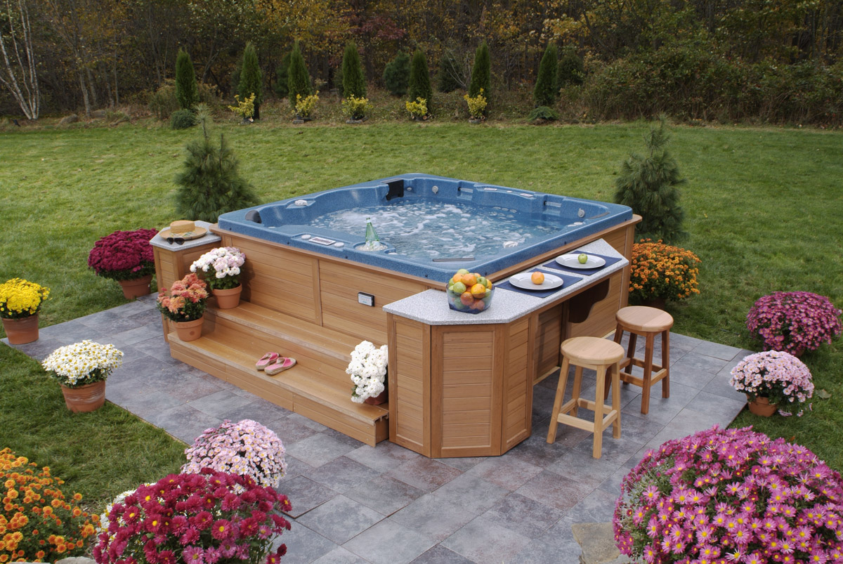 outdoor spa tubs - The Best Design Ideas for Hot Tubs ...