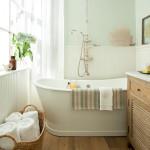 small spa bathroom