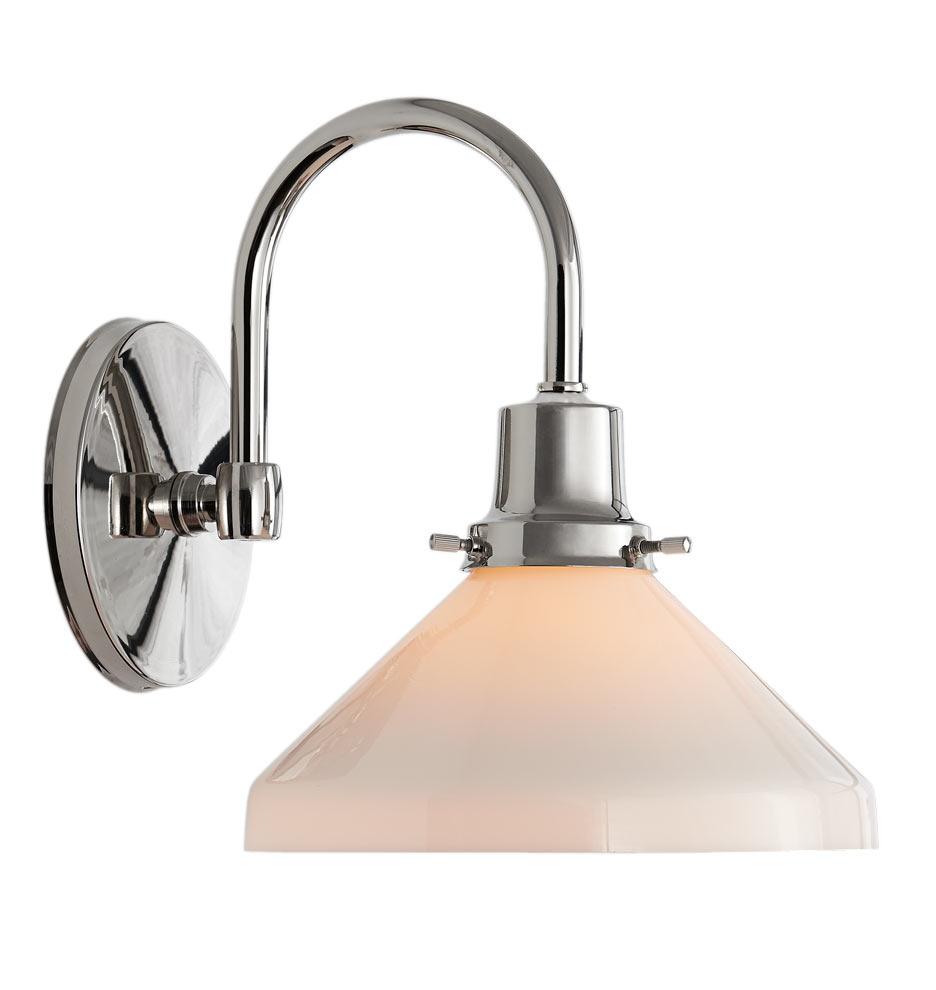 Single Light Bathroom Wall Sconce The