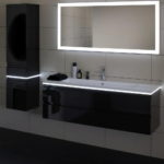 bathroom modern led lighting