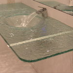 Clear Glass Countertop