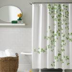 Contemporary Minimalist Shower Curtain