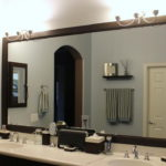 Framed Mirrors Ideas for Bathroom