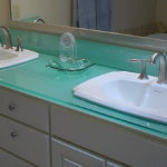 Glass Countertop for Bathroom
