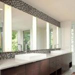 Large Bathroom Mirror Design Ideas