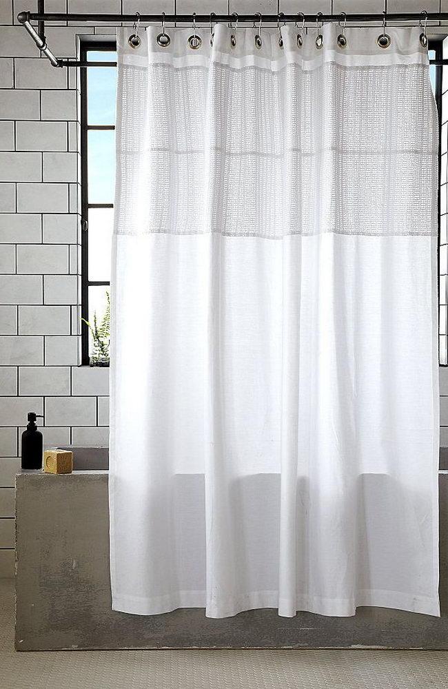 Modern Minimalist Shower Curtain Finds