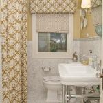 Pretty Bathroom Window Curtains