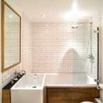 Pretty Subway Tile Bathroom