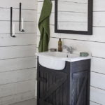 Rustic Small Bathroom Vanity