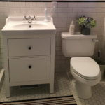 Small Bathroom Vanity White