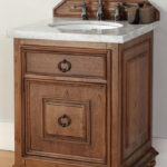 Small Cottage Bathroom Vanity