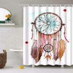Beautiful Unique Shower Curtain