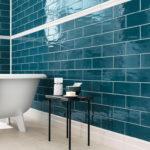 Bedrock Glass Tiles Bath
