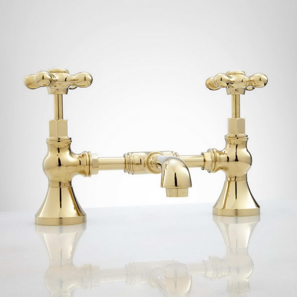 Bridge Brass Bathroom Faucet