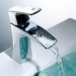 Contemporary Chrome Bathroom Faucets