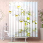 Contemporary Unique Shower Curtain