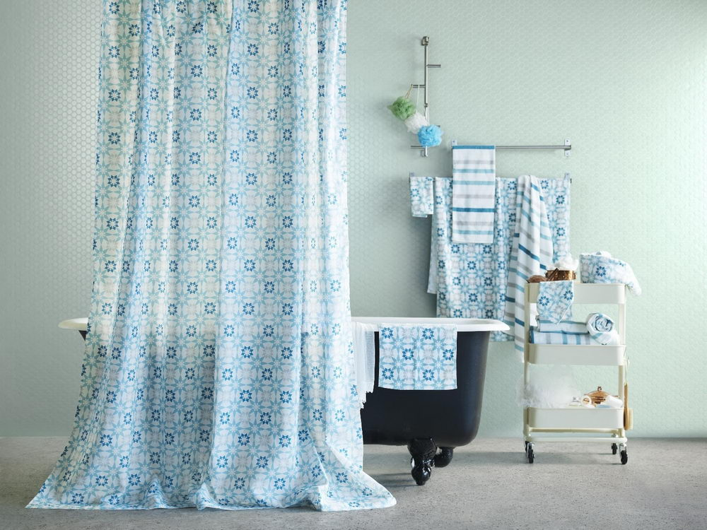 The Standard Extra Long Shower Curtain Size Guide Best Bath Ideas