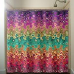 Elegant Unique Shower Curtain