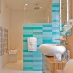 Glass Wall Tile Bathroom