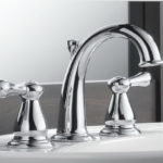 Lavatory Faucet in Chrome