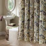 Leaf Fabric Unique Shower Curtain