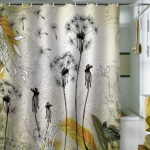 Modern Unique Shower Curtain