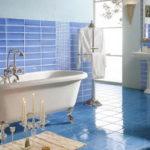 Mosaic Glass Tile Ideas for Bathroom