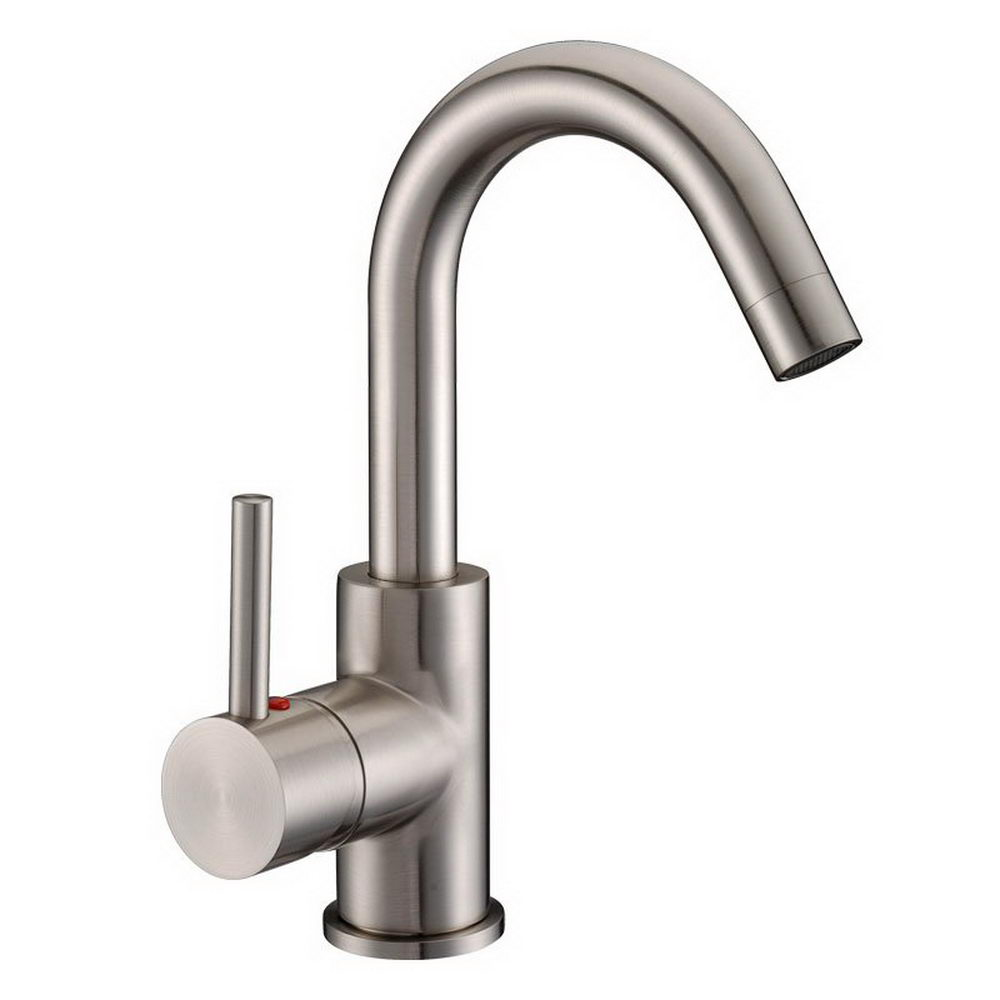 single hole bathroom faucet with pop up drain