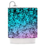 Unique Blue Purple Shower Curtain