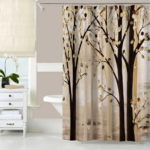 Unique Tree Shower Curtain