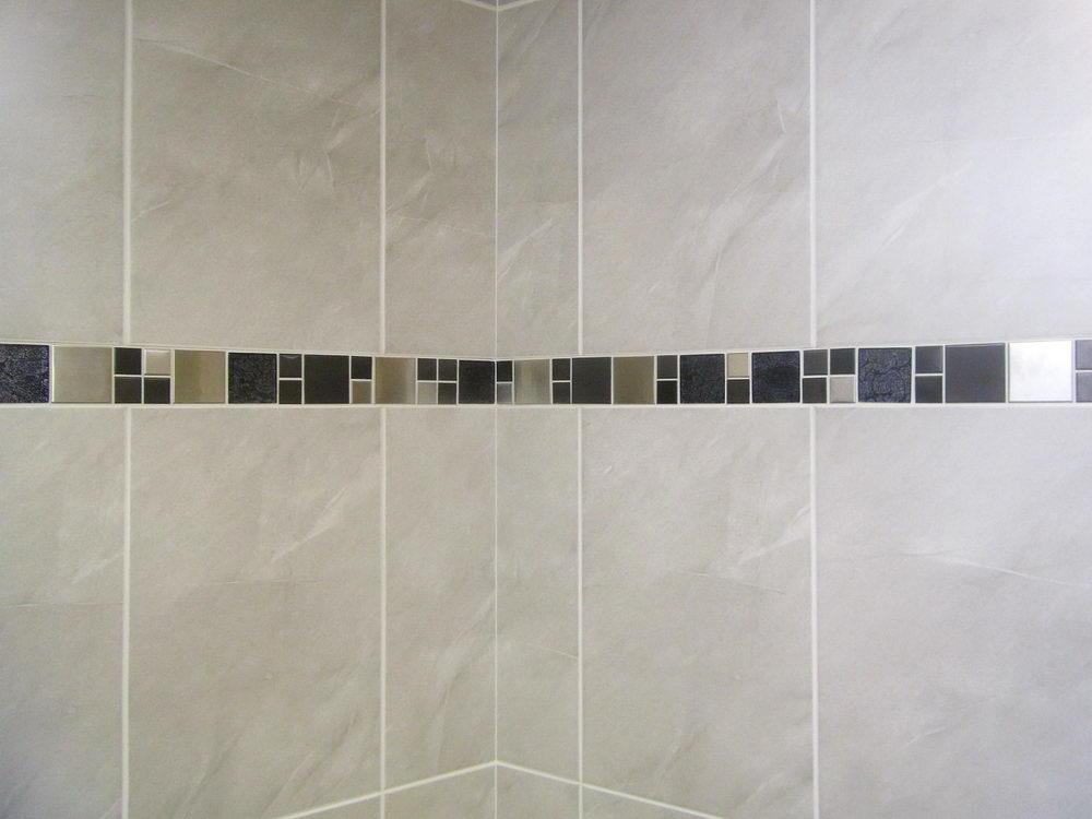 Bathroom Border Tiles Image Of