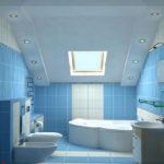 Exquisite Bathroom Tile Blue and White