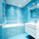 Fantastic Blue Bathroom Tiles