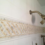 Fashionable Decor Bathroom Border Tiles