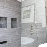 Gray Tle Shower