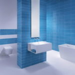 Modern Blue Bathroom Designs