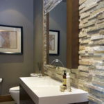 Modern Stone Bathroom