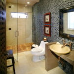 Mosaic Tile Ideas for Small Bathroom