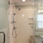 Shower White Subway Tile